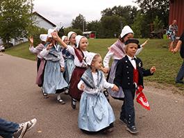 Auftritt der Kinder bei Barbelroad