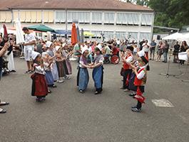 Auftritt der Kinder in Landau