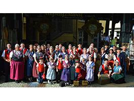 zu Gast beim Stadtfest in Sonthofen