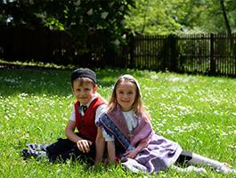 Kinderpaar Emma & Lennart