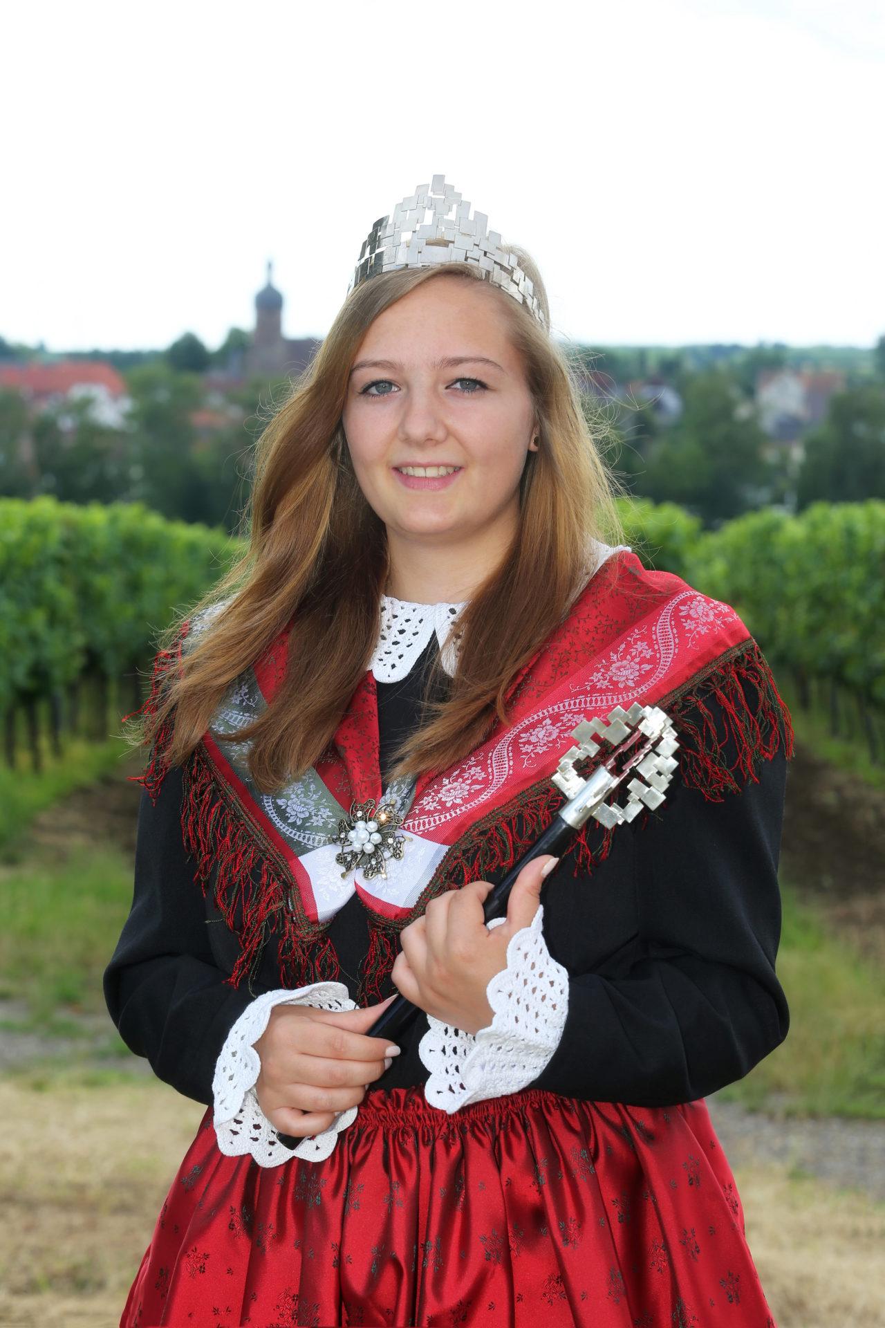 Purzelmarktkönigin 2018/2019 Franziska I.