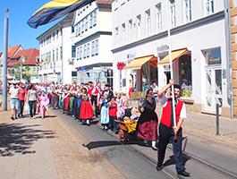 Ausflug zum Danetzare Folklorefestival in Erfurt