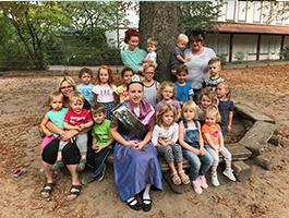 Melanie II. im Kindergarten Billigheim