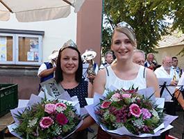 Melanie II. beim Weinfest Mühlhofen