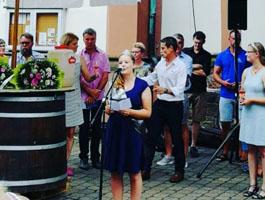 Eröffnung Mühlhofen Weinfest 2019
