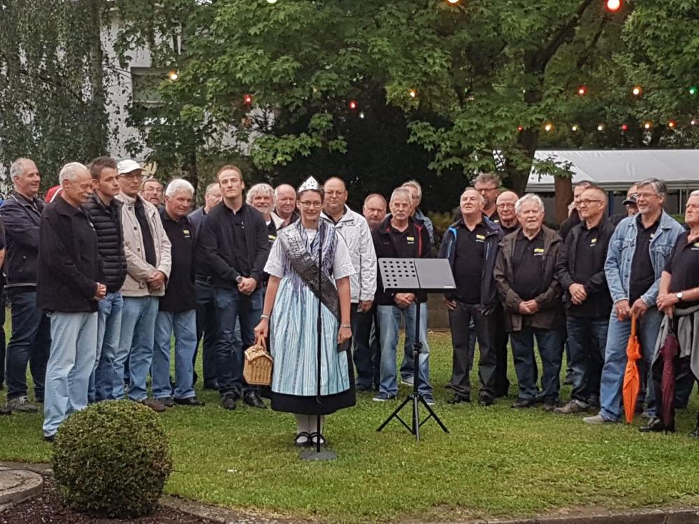Melanie I. in Ingenheim Eroeffnung 11.08.2017