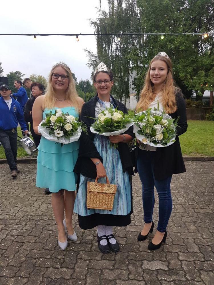 Melanie in Ingenheim Eroeffnung Klingbachfest 11.08.2017