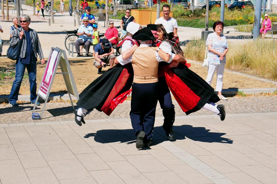 Tanzen am Hirschgarten